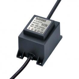 Adaptador de Corriente de 220V Ac A 12V Ac, 60W, Ip68