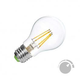 Bombilla Led E27 Cob Filamento 4W, Regulable, Blanco Cálido 2700K, Regulable
