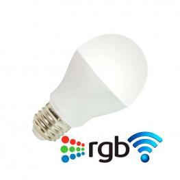 Bombilla Led Wifi E27 Bulb 6W Rgb+Blanco Frío, Rgb + Blanco Frío