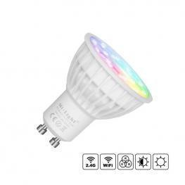 Bombilla Led Wifi Gu10 Bulb 4W Rgb+Cct, Rgb + Blanco Dual, Regulable