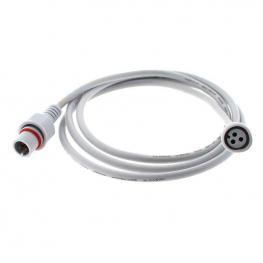 Cable Extensión 3 Pinx0,5Mm, 150Cm, Ip66, Blanco