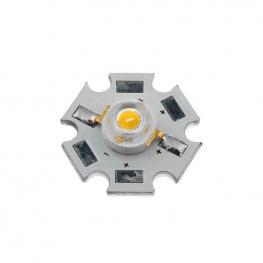 Chip Led High Power Bridgelux 1X1W, Blanco Cálido