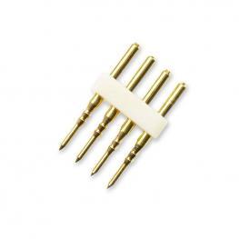 Conector Alimentador Tira Led 220V Smd5050 Rgb - 18.5Mm