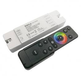 Controlador 4 En 1 (Mono, Cct, Rgb, Rgbw) + Mando A Distancia