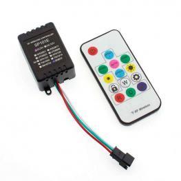 Controlador Sp101E Rf Para Tira Led Ic Digital + Mando
