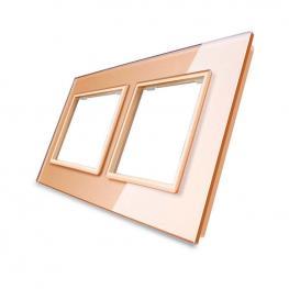 Frontal Cristal Golden 2X Huecos