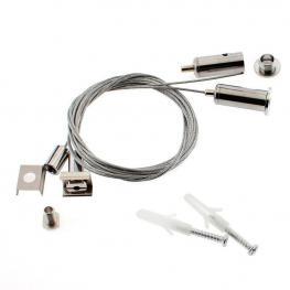 Kit Para Colgar Perfiles, 2 Cables de Suspensión Ken 1,5M