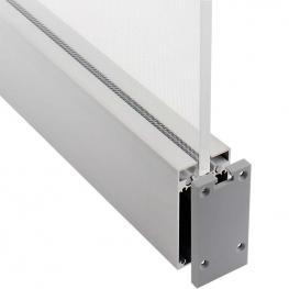 Kit - Perfil Aluminio Prolux Para Tiras Led, 120 Cm