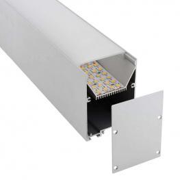 Kit - Perfil Aluminio Serk Para Tiras Led, 2 Metros