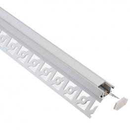 Kit Perfil Arquitectónico Aluminio Sine 3 Metros