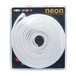 Led Neon Flex, 6X12Mm, Dc12V, 120Led/m, 5M, 60W, Verde