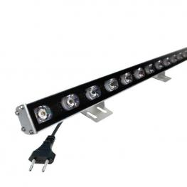 Proyector Led Lineal, 24W, 220V, 1M, Azul