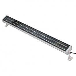 Proyector Led Lineal Doble, 72W, 220V, 1M, Blanco Neutro