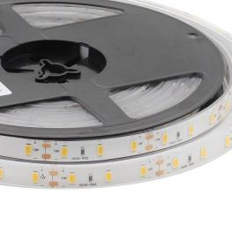 Tira Led Monocolor Hq Smd5630, Chipled Samsung Dc12V, 5M (60Led/m) - Ip68, Blanco Cálido