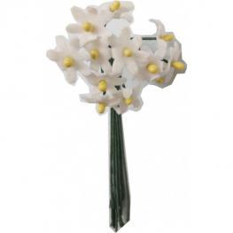 Lote 9 Ramilletes de 12 Flores