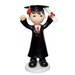 Figura Niño Graduado