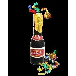 Cañon Espirales En Forma de Botella de Champan