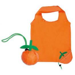 Bolsa Plegable Fruits Naranja