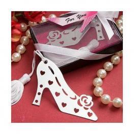 Elegante Punto de Libro Zapato lovers En Cajita