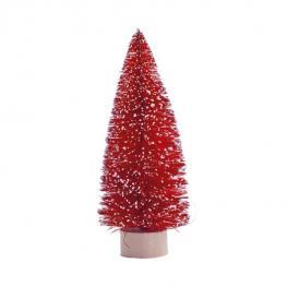 Arbol de Navidad Nieve Rojo