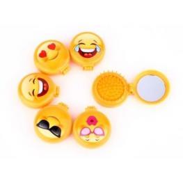 Cepillo Espejo Emoticonos