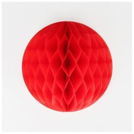 Pompones Nido 20Cm Rojo