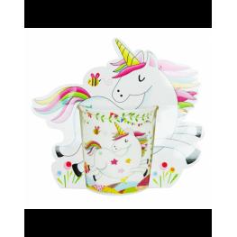 Taza Unicornio Presentada En Bolsa de Regalo