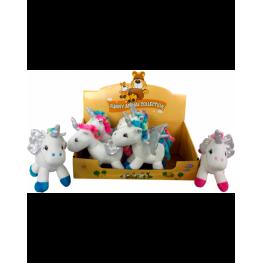 Expositor Con 8 Peluches Unicornio