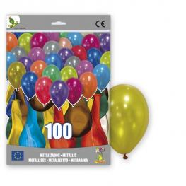 100 Globos Metalizados