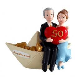 Figura Pastel 50 Aniversario Barco