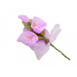 Flor Pic Ramillete 14 Cm Lila