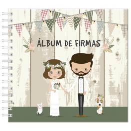 Nuevo Album de Firmas novios