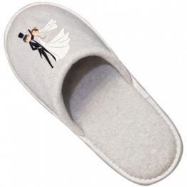 Zapatillas de Algodón Para Bodas (Impresión No Inc