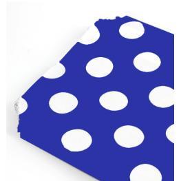 Lote 25 Bolsas Papel Lunares de Regalo Azul Marino