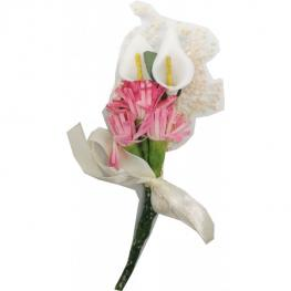 Lote 5 Flores Rosas Lirios