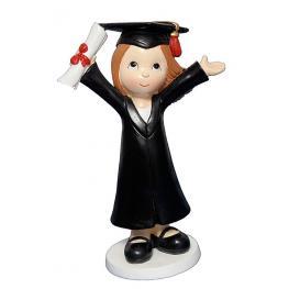 Figura Niña Graduada