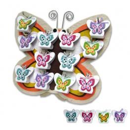 2X1 Expositor Mariposa Primavera (Solo Expositor)