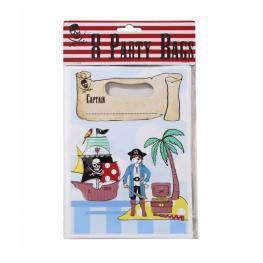 Bolsas Para Fiestas Piratas (8 Pcs)