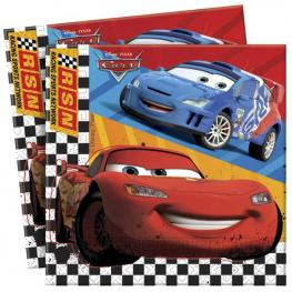 Pack de 20 Servillenas Doble Disney Cars