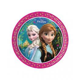 Pack de 8 Platos de Papel Frozen Disney