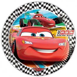 Pack de 8 Platos Disney Cars