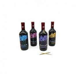 Palillero En Forma de Botella de Vino