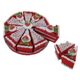 Set 10 Cajas Porción Pastelito + Display Rojo
