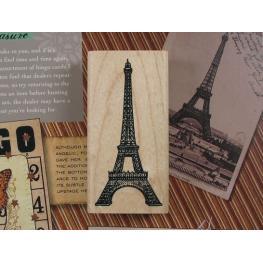 Sello París Torre Eiffel