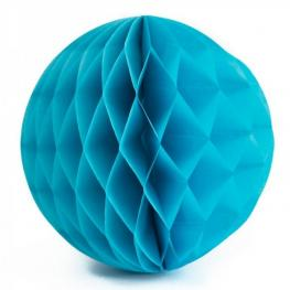 Pompones Nido 20Cm Azul