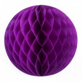 Pompones Nido 20Cm Purpura