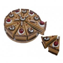 Set 10 Cajas Porción Pastelito + Display Chocolate