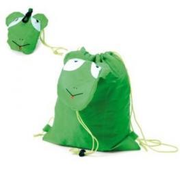 Mochila Plegable Animals Verde