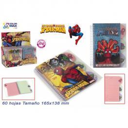 Lote de 24 Libretas Spiderman