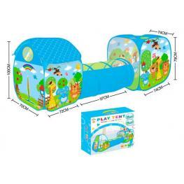 Tunel Zoo Animales Plegable 3 En 1 Bebé Infantil